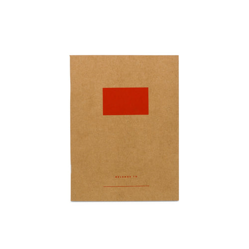 Kids Notebook - Red