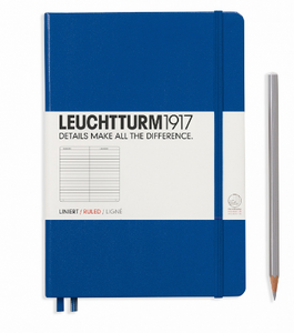 Royal Blue A5 Notebook - Ruled