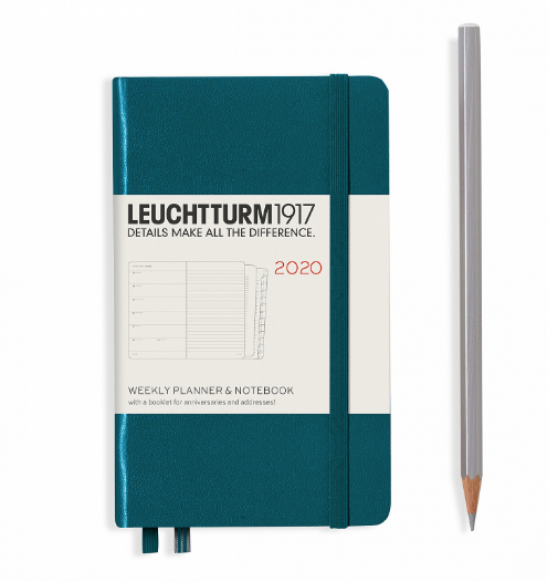 Pacific Green 2020 Weekly Planner A5