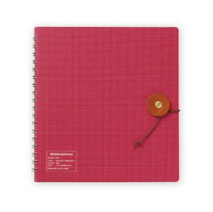 Kraft Work String-Tie Notebook