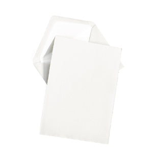 A5 Notecard Box Set of 25 - White