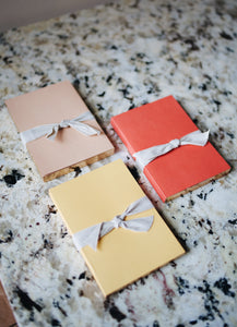Blush Jotter Notebooks Set of 2