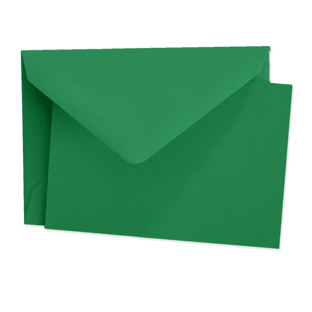 Color Vellum Mini Card Set of 10 - Amazon Green
