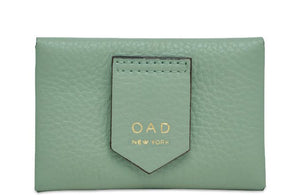 Envelope Card Case in Celadon
