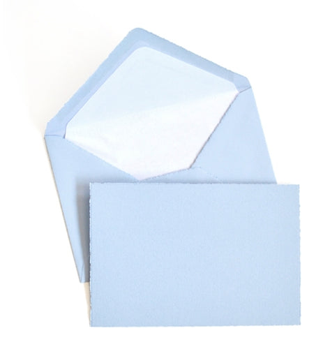 Classic Notecard Box Set of 25 - Blue