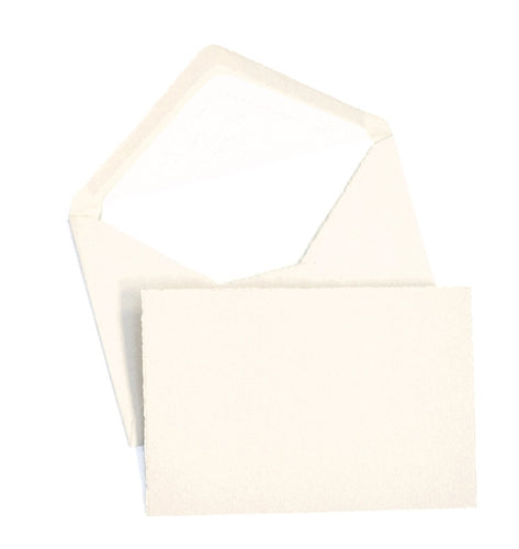 Classic Notecard Box Set of 25 - Cream
