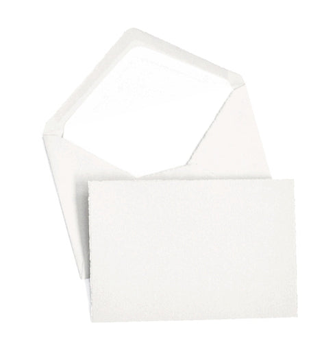 Classic Notecard Box Set of 25 - White