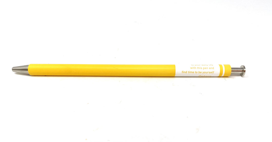 Colors Gel Ballpen - Yellow
