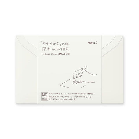 Cotton Envelope Set of 8