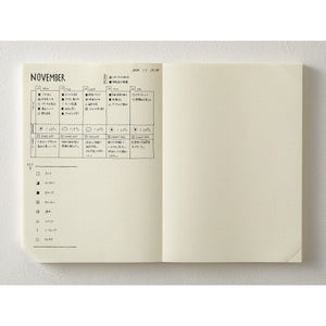 A5 Codex 1 Day 1 Page Notebook Journal - Dot Grid