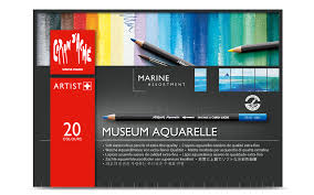 Museum Aquarelle - Set of 20 Marine