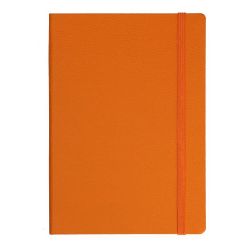 Metropolitan Glasgow Ruled Notebook: Orange