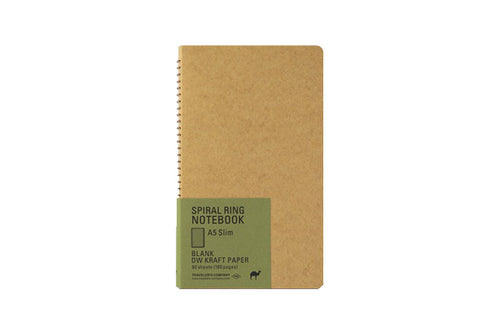 A5 Slim Kraft Paper Notebook