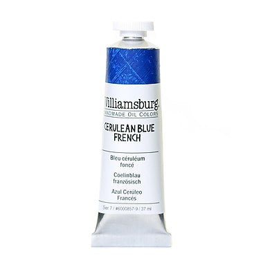 Cerulean Blue French 37ml - Williamsburg Paint