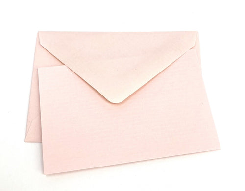 Mini Notecard Set of 10 - Pink