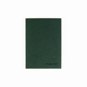 Holy Golden Racing Green  Regular Size Notebook