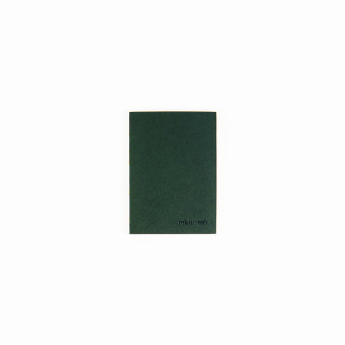Holy Golden Racing Green  Pocket Size Notebook