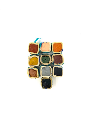 Mother Earth Set of 10 Watercolor Paintstones