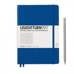Royal Blue A5 Notebook - Grid