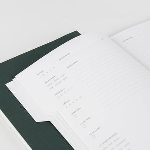 The Art of Plating Recipe Regular Size Notebook