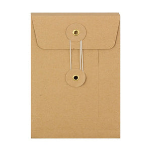 Small Brown Kraft Envelope w/ String