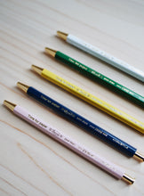 Time for Paper Gel Ballpen - Green