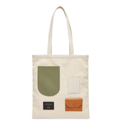 OAD x CW Neutrals II Pencils Collab Tote