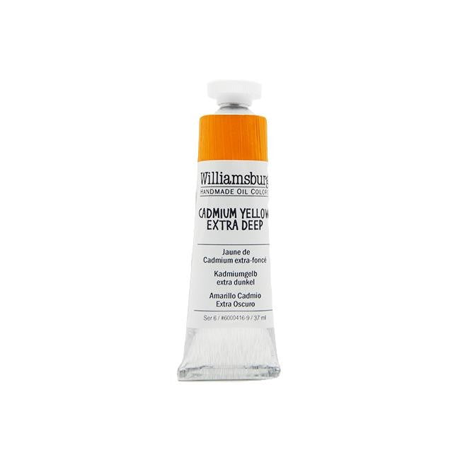 Cadmium Yellow Extra Deep 37ml - Williamsburg Paint