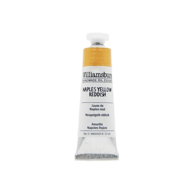 Naples Yellow Reddish 37ml - Williamsburg Paint