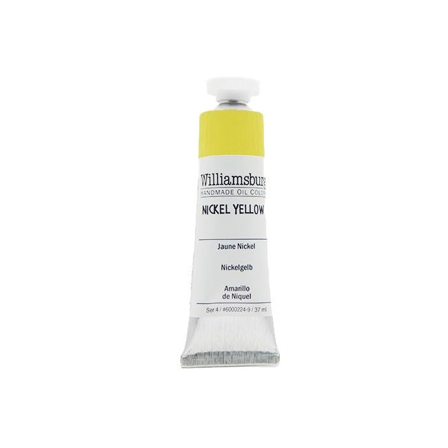 Nickel Yellow 37ml - Williamsburg Paint