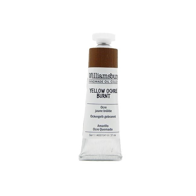 Yellow Ochre Burnt 37ml - Williamsburg Paint