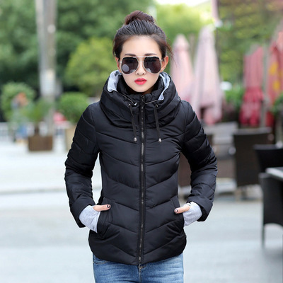 Hooded Winter Jacket Parka