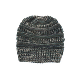 Knitted Wool Horsetail Hat