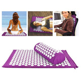 Acupressure Meditation Mat and Pillow Set - Zen Apparel