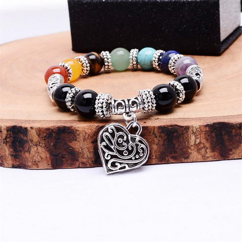 7 Chakra Love and Healing Bracelet - Zen Apparel
