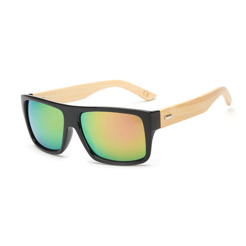 Ruisimo Bamboo Wood Wayfarer Sunglasses - Zen Apparel