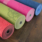 Mandala Comfort Grip Yoga Mat with Bag