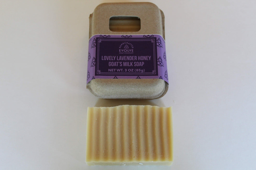 Lovely Lavender Honey Goat's Milk Soap