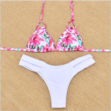 2018 Sexy Thong Bikini Newest Padded Vintage Bikini Sets Push Up Swimwear Women Retro Swimsuit Brazilian Biquini Maillot De Bain - LyLyDress