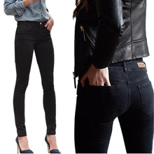 2018 Spring Autumn Women Jeans Stretch Skinny Pencil Pants Black Casual Denim Boyfriend Jeans Women - LyLyDress