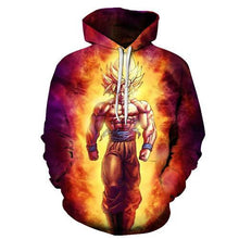 Anime Hoodies Dragon Ball Z Pocket Hooded Sweatshirts Kid Goku 3D Hoodies Pullovers Men Women Long Sleeve Outerwear New Hoodie - LyLyDress
