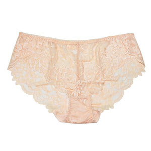 FallSweet Women Full Lace Panties  Solid Sexy Briefs Female  Plus Size Underwear Mid Rise 4XL - LyLyDress