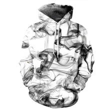 Mr.1991INC New Fashion Men/Women 3d Sweatshirts Print Watercolor Dreamy Smoke Lines Thin Style Autumn Winter Hooded Hoodies - LyLyDress