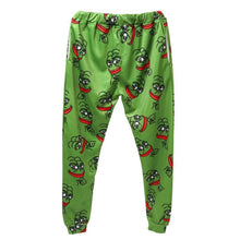 Raisevern Fashion 3D Pepe The Frog Joggers Pants Men/Women Funny Cartoon Sweatpants Trousers Elastic Waist Pants Dropship - LyLyDress