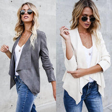 Women Coat Long Sleeve Jacket Cardigan Parka Outwear Overcoat Tops Autumn Casual Women Jackets Fashion - lemonclothes