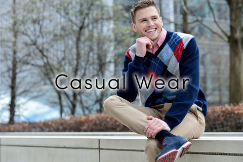 Men's Causal Wear Link and Image
