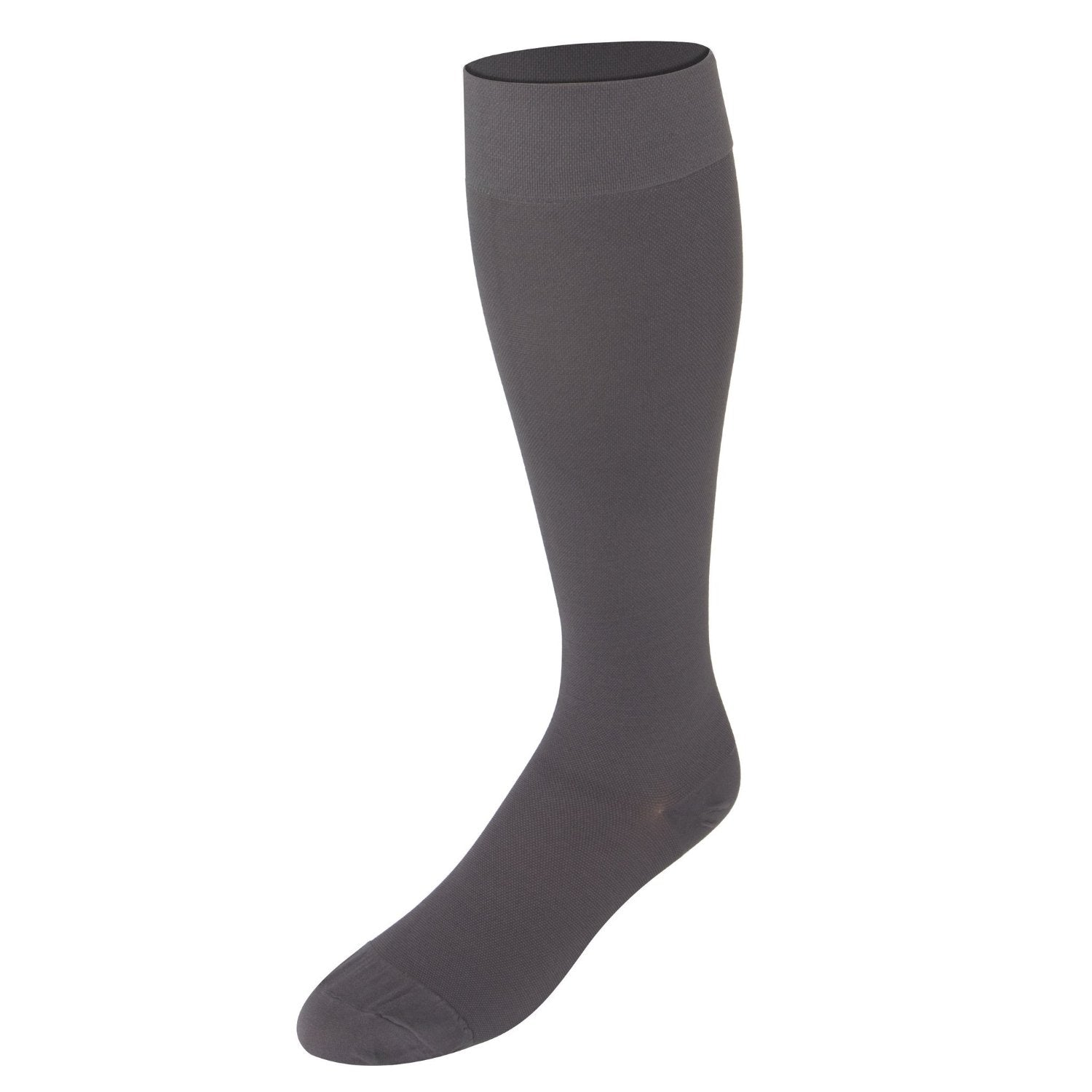 8865 Below Knee Closed Toe Grey Stockings