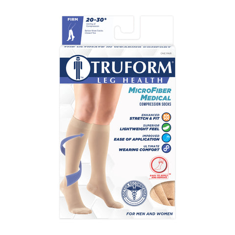 MicroFiber Medical Compression Socks