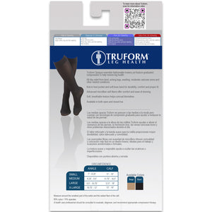 0363 / Truform Women's Compression Stockings / 20-30 mmHg / Knee High / Packaging