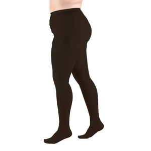 1758 / Truform Plus Size Pantyhose / 20-30 mmHg Compression / Full Figure / Beige